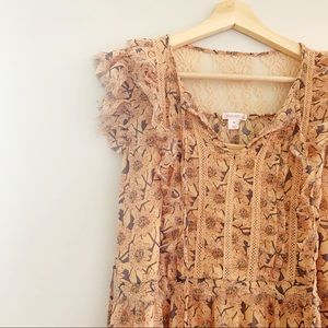 xhilaration | floral maxi dress